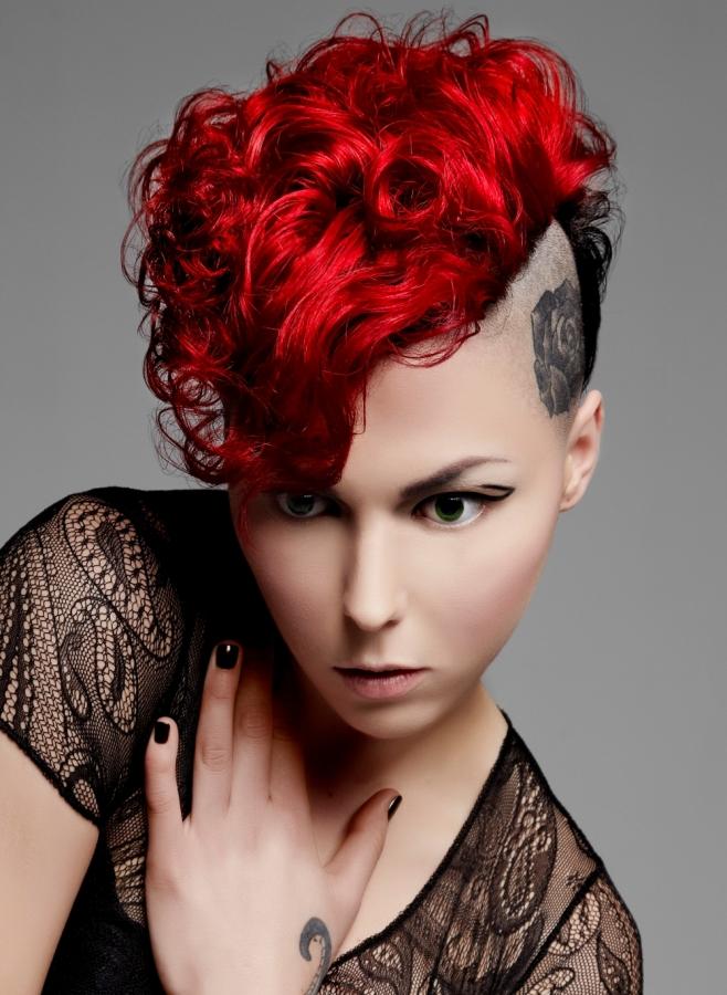 Punk Girl Hair Color Ideas 2012.