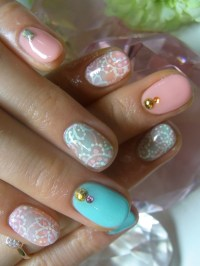 New Girly Nail Art Ideas for Summer.