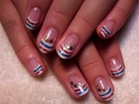Fourth of July Nail Art and Toe Nail Designs.
