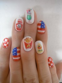Pictures : Fourth of July Nail Art and Toe Nail Designs ...
