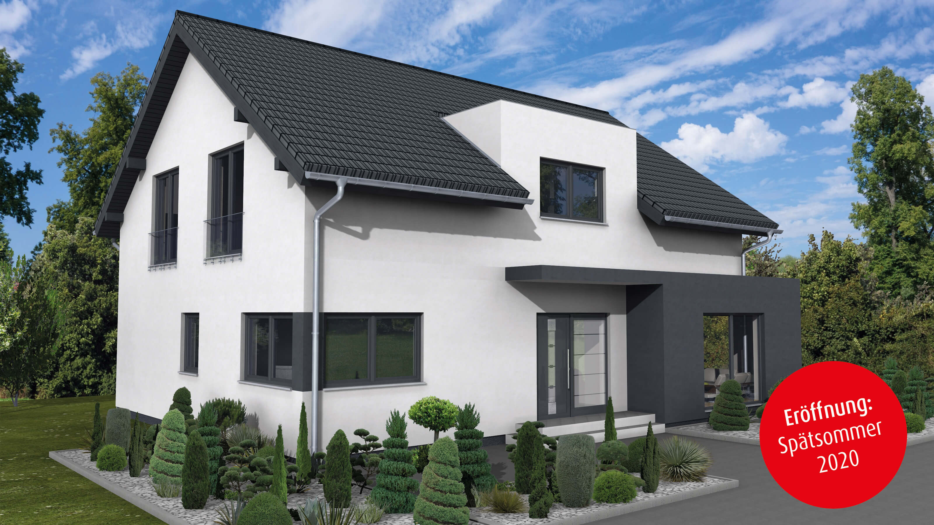 Haus 1 5 Geschossig Satteldach ᐅ Musterhaus Bad Vilbel | Fingerhut Haus Gmbh & Co. Kg