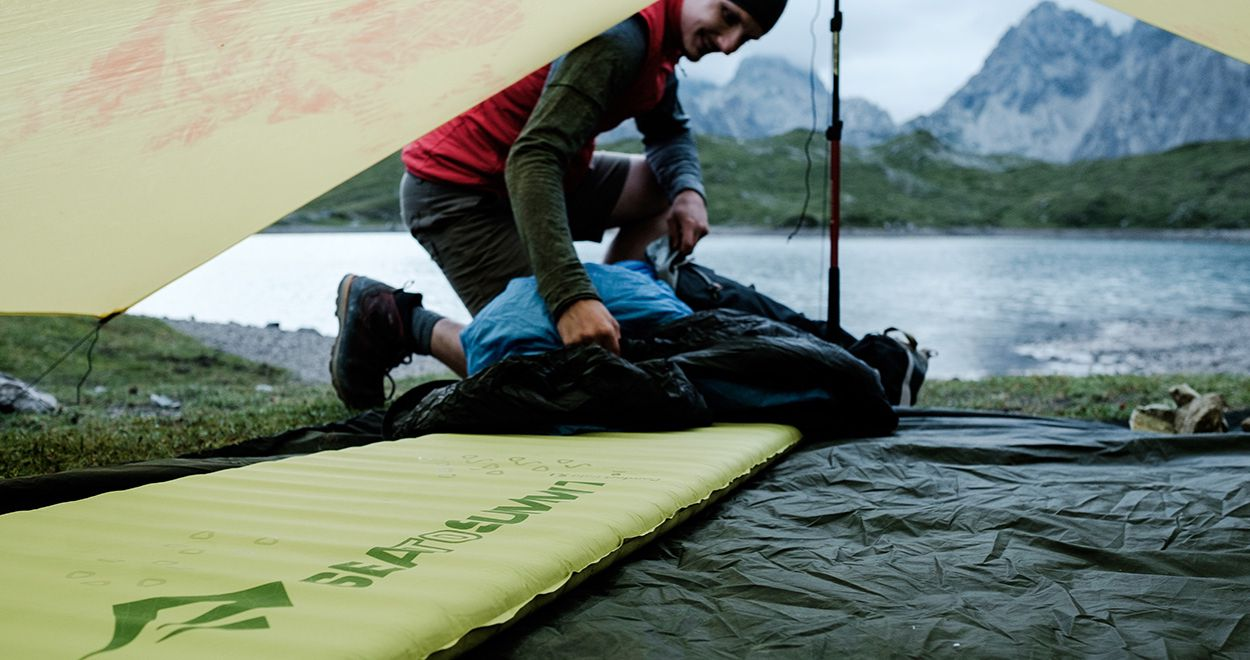 Selbstaufblasbare Luftmatratze Test Vergleich Die Sea To Summit Comfort Light Self Inflating Isomatte Im Test