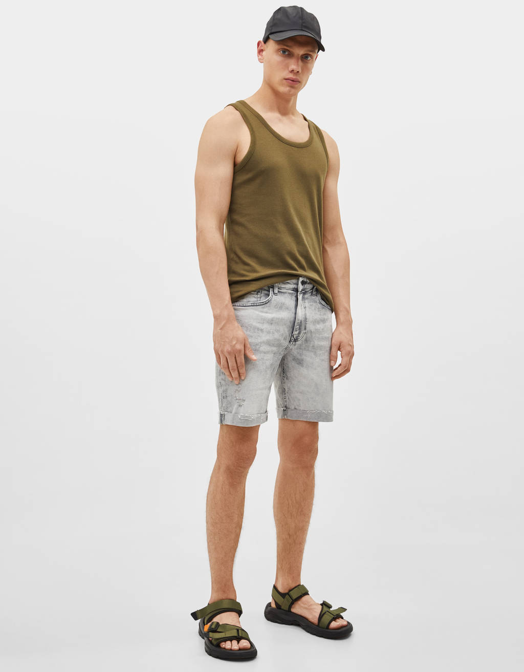Muscle Shirt Men S T Shirts Spring Summer 2019 Bershka