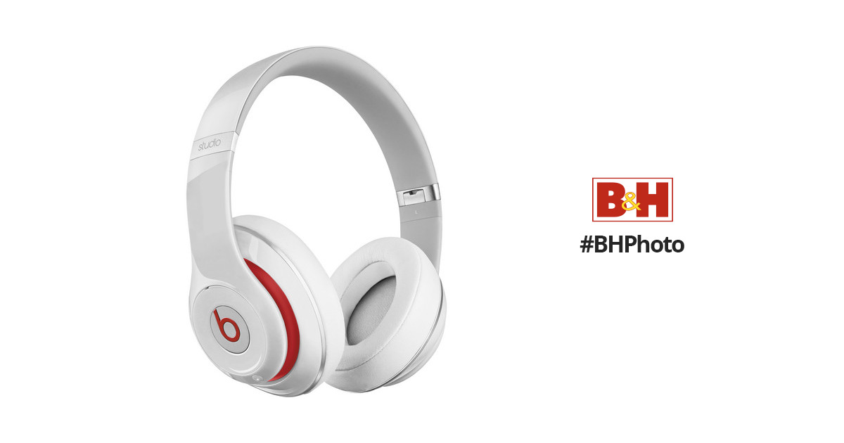Beats by Dr Dre Studio2 Wireless Headphones (White) MH8J2AM/B