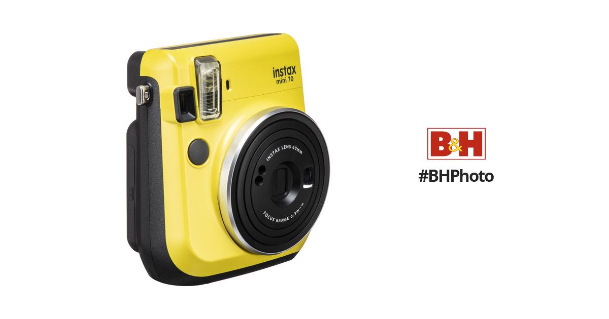 FUJIFILM INSTAX Mini 70 Instant Film Camera 16496122 BH Photo