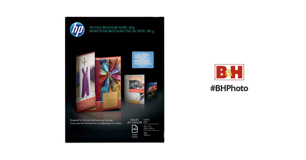 HP Tri-fold Brochure Paper (Matte) - 85x11\
