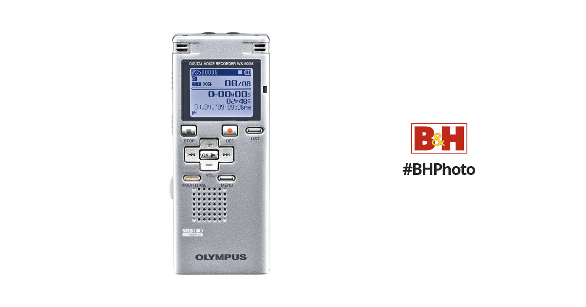 Olympus Voice Recorder Ws 500m Manual