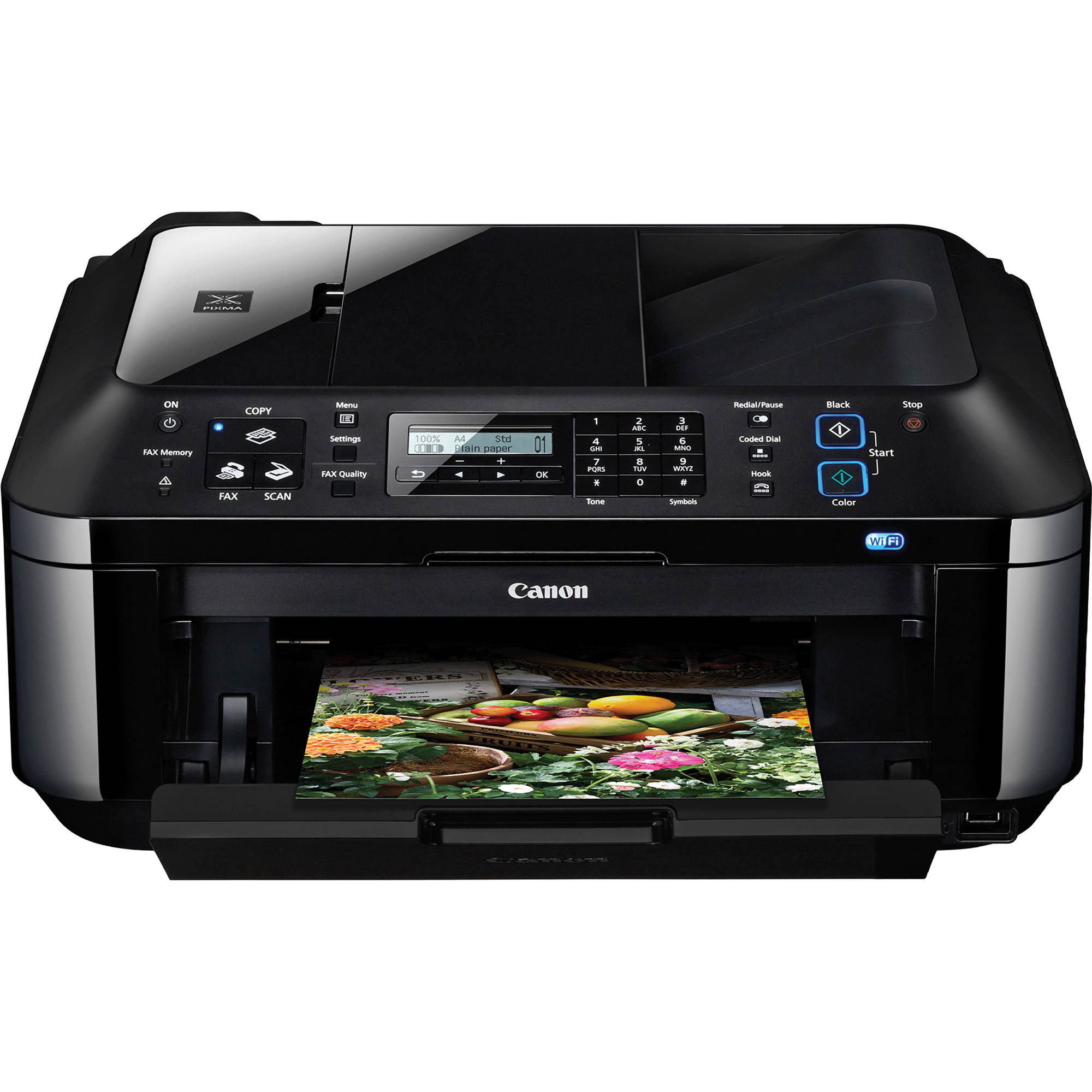 Canon All In One Canon Pixma Mx410 All In One Color Inkjet Office Printer