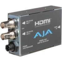 AJA HDMI to SD/HD-SDI Video and Audio Converter HA5 B&H Photo