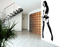 Photo Wall Mural Asian Pin-up Girl Wallpaper Wall art Wall ...