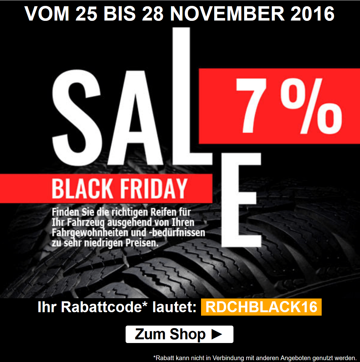 Black Friday Rabatt Reifendirekt Dealübersicht Zum Black Friday 2019 Cyber Monday