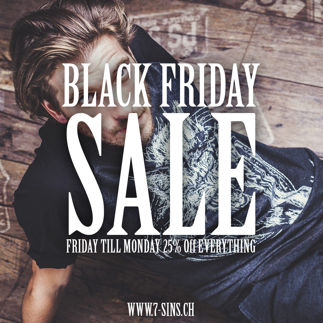 Black Friday Angebot 25 Rabatt Auf Das Gesamte 7sins Sortiment Black Friday