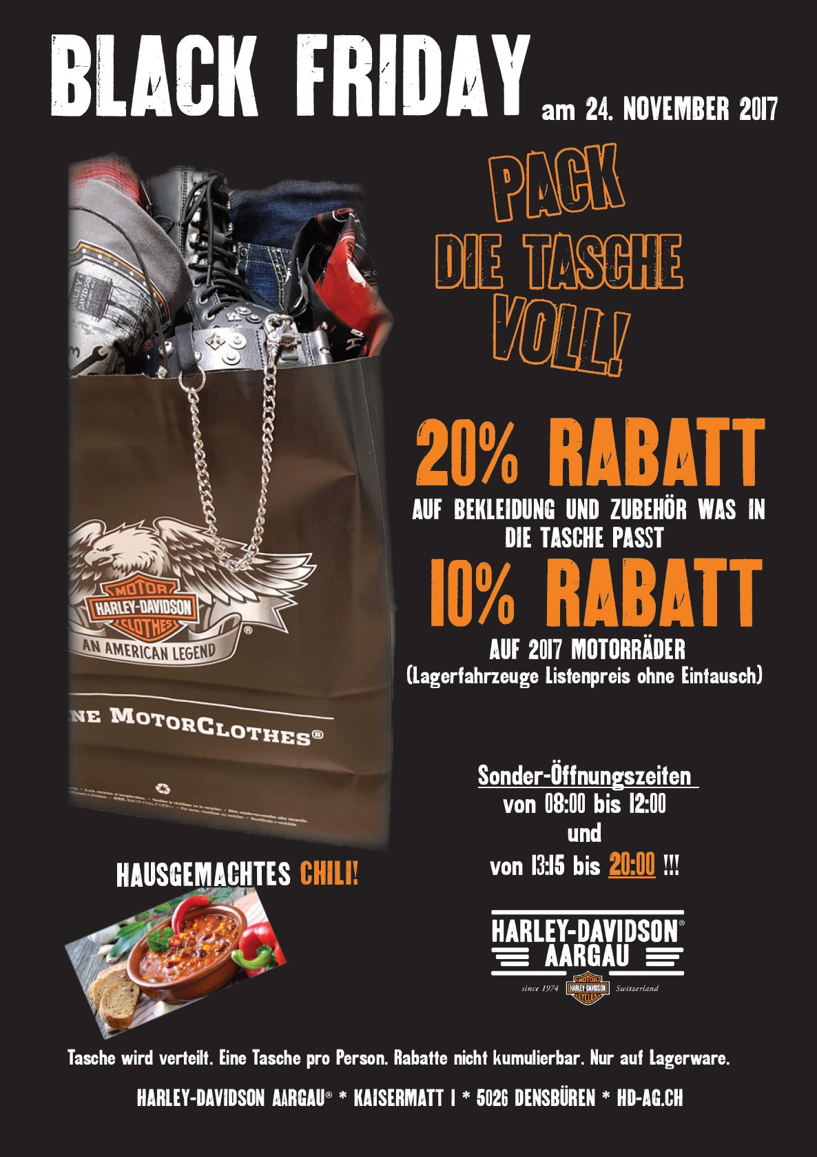 Black Friday Angebot Harley Davidson Aargau Mit 20 Rabatt Black Friday