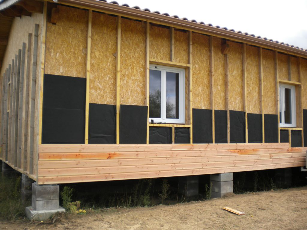 Isolation Autoconstruction Isolation Exterieure Maison Bois En Autoconstruction