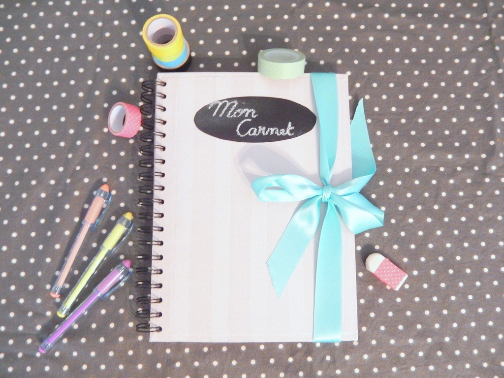 Decoration De Cahier Diy Customiser Un Carnet Blog Déco Do It Yourself