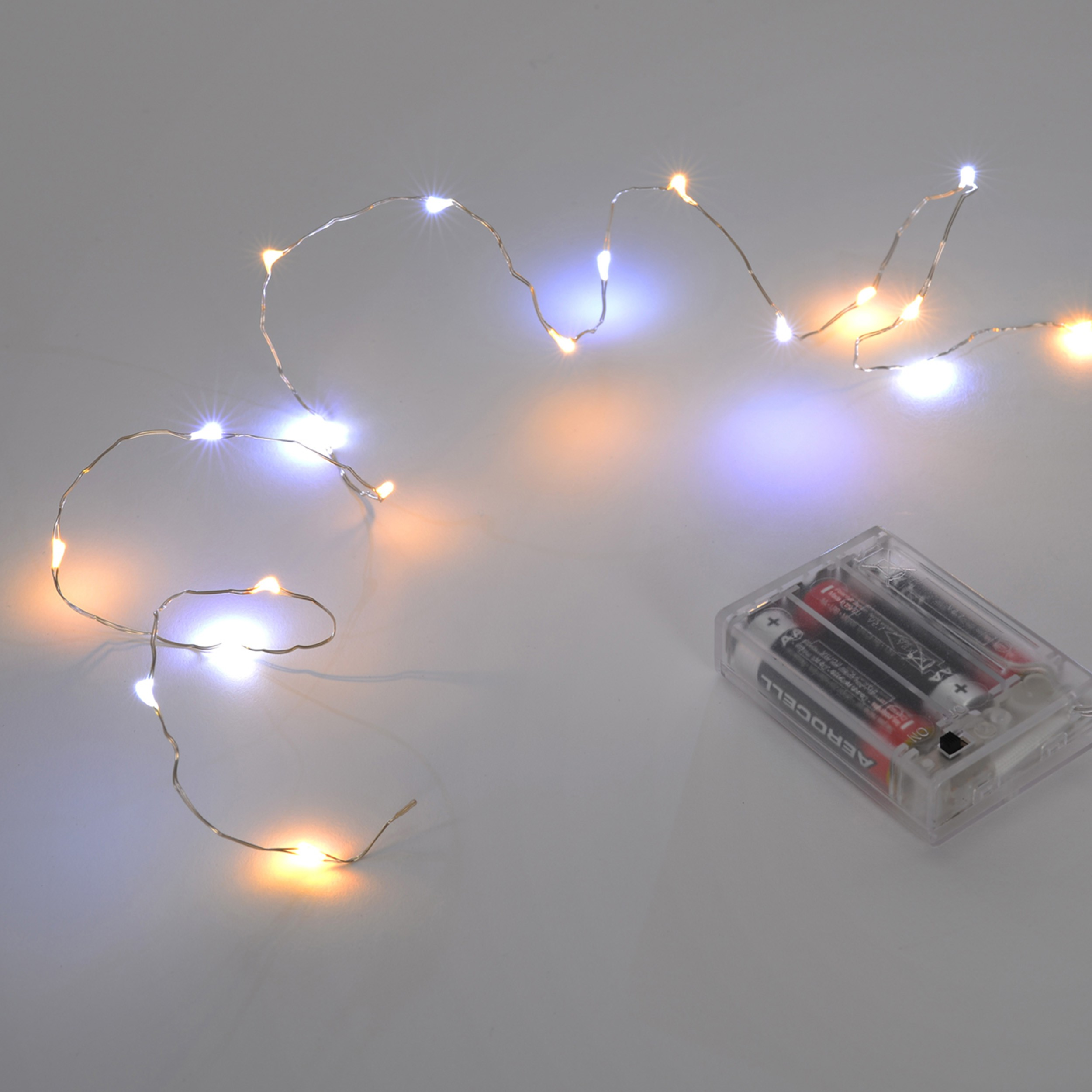 Led Lichterkette Innen Led Micro Batterie Lichterkette 20 Led Weihnachten Deko