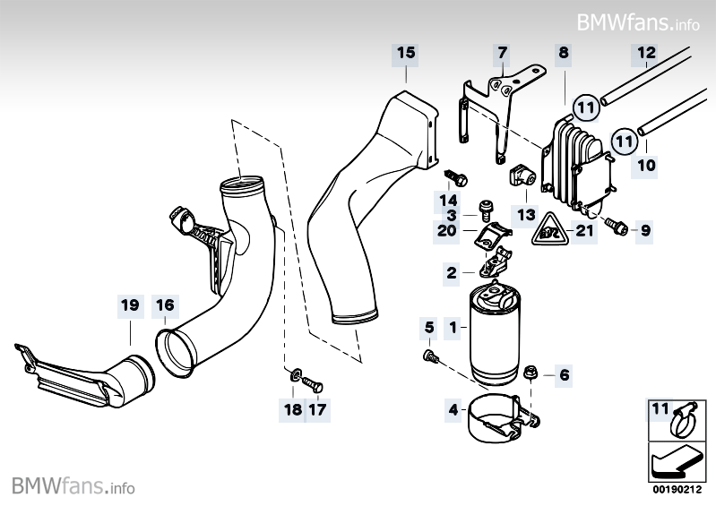 bmw e39 530d fuel filter replacement