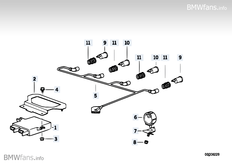 bmw e24 wiring harness
