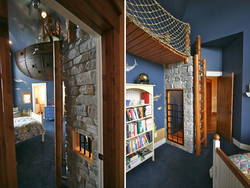 22 Creative Kids Room Ideas That Will Make You Want To Be