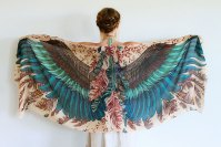 These Beautiful Scarves Will Give You Wings | Bored Panda