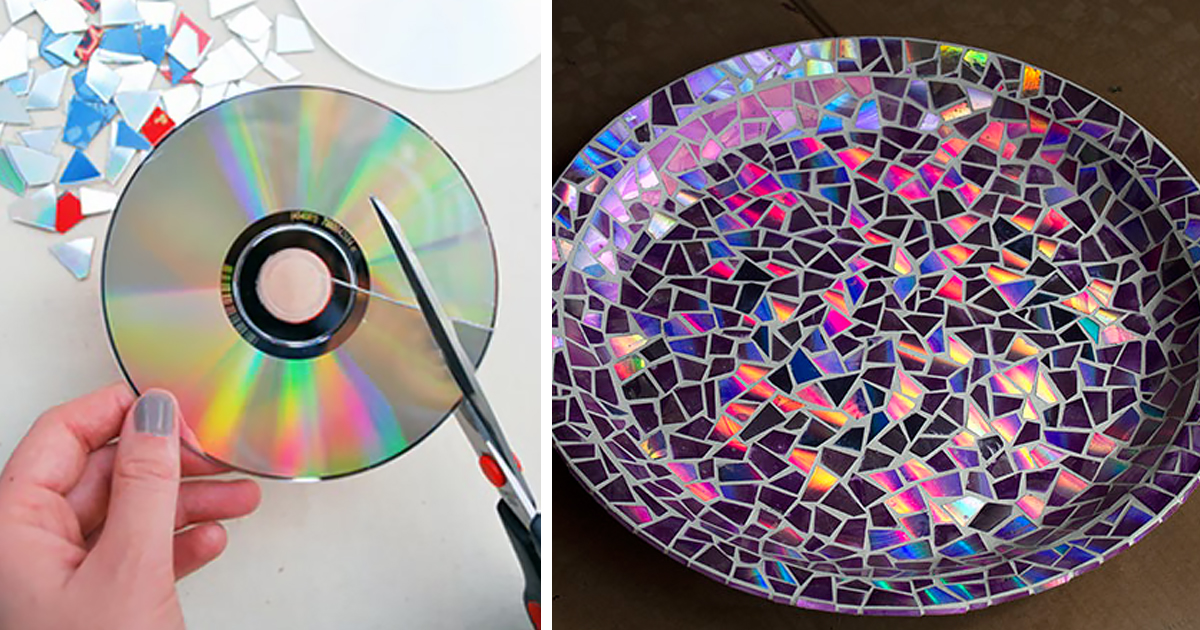 21+ Brilliant DIY Ideas How To Recycle Your Old CDs Bored Panda