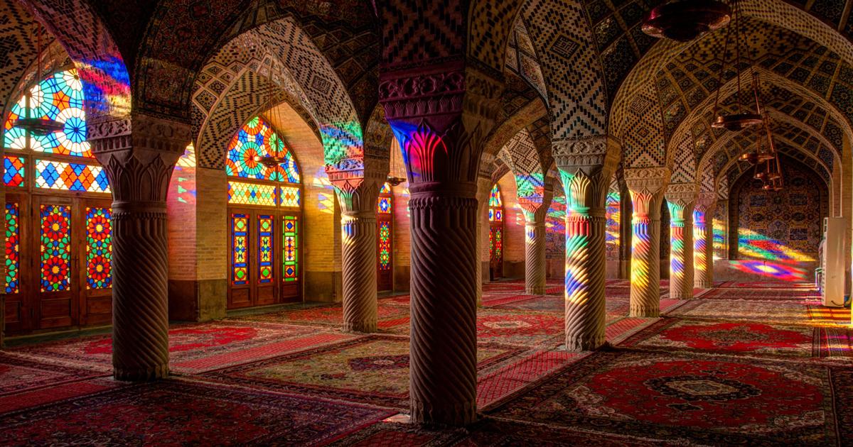 Colourful Iphone X Wallpaper The Mosque Of Colors 15 Unique Photos Of Nasir Al Mulk
