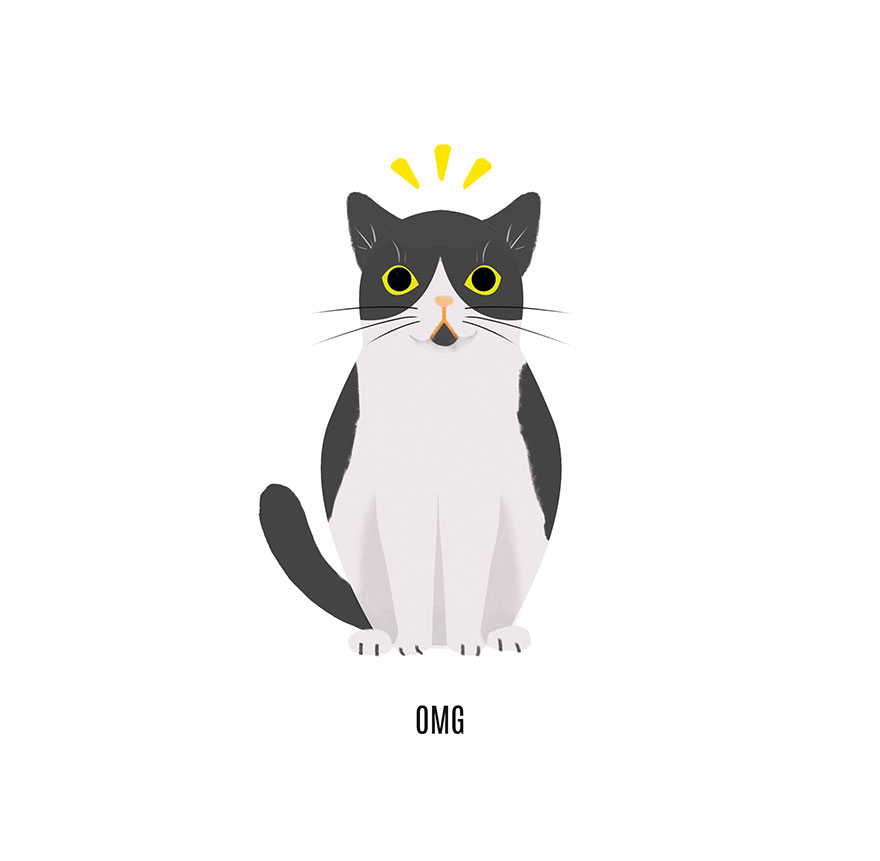 Best Wallpaper App For Iphone I Draw The Most Famous Cats On The Internet Bored Panda