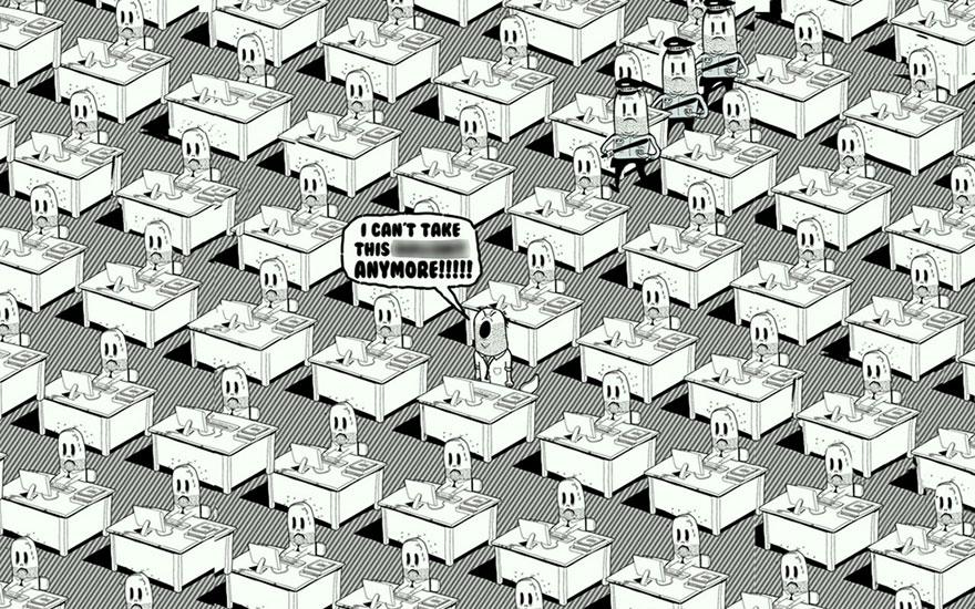 współczesne światowe karykatura-ilustracje-steve-Cutts-12
