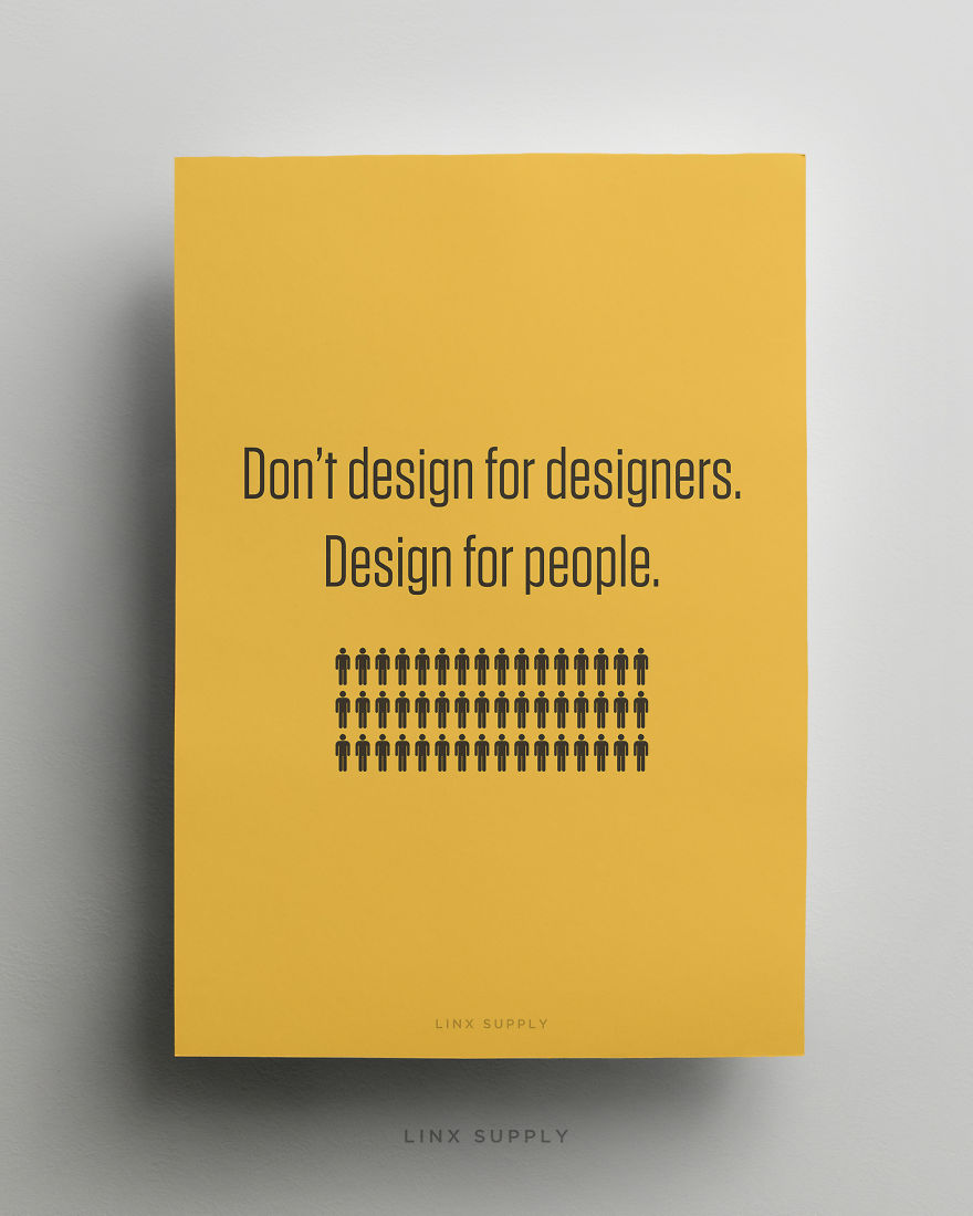 Poster design dos and donts - Poster Design Quotes Don T Design For Designers Download