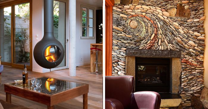 59 Of The Coolest Fireplaces Ever Bored Panda