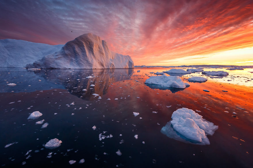 The Thing Iphone Wallpaper The Icebergs Of Disko Bay That I Captured From A Russian