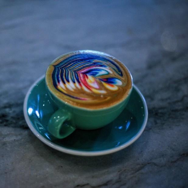 拿鐵咖啡藝術,食品染料梅森 - 索爾茲伯里-3