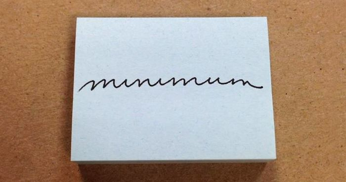 37 Perfect Handwriting Examples That will Give You An Eyegasm