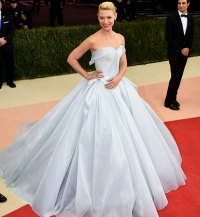 Glowing Dress Turns Claire Danes Into Cinderella At The ...