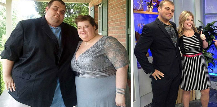 52 Before-And-After Photos Of Couples Losing Weight Together Bored