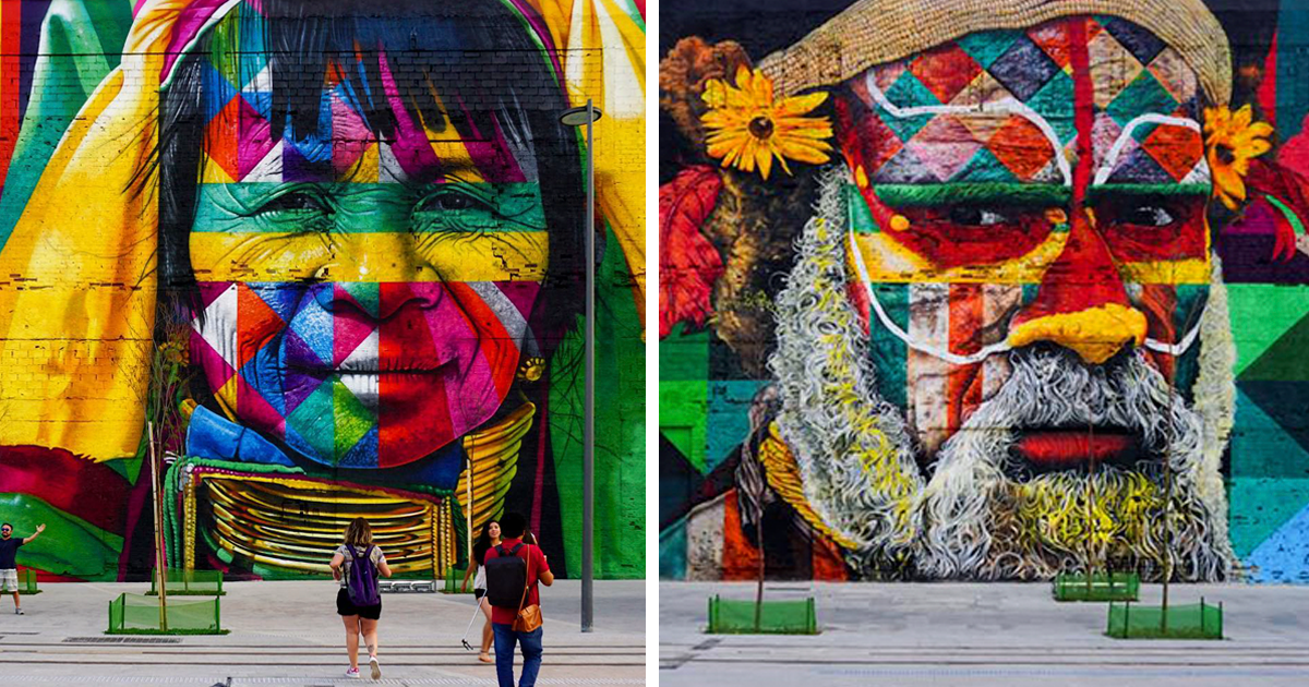 How To Get A Live Wallpaper On Iphone X Brazilian Graffiti Artist Creates World S Largest Street