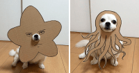 Japanese Woman Creates Hilarious Cardboard Cutouts With ...