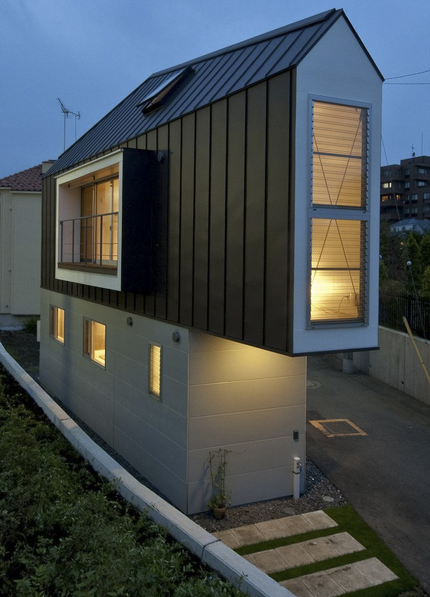 01 Architecten This Narrow House In Japan Only Looks Tiny Until You Look