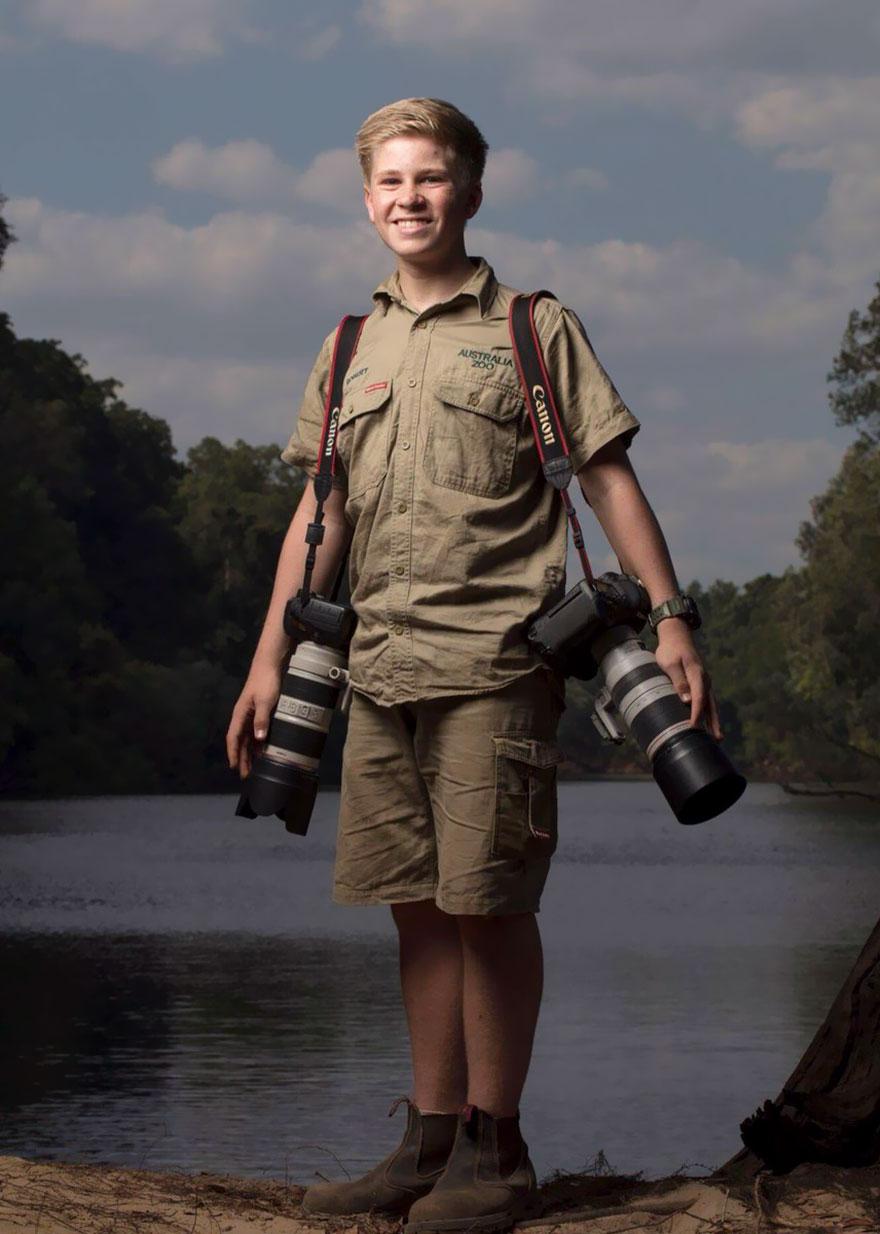 Boy Fall In Love Wallpaper Steve Irwin S Son Is An Award Winning Photographer And