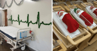 30 Hospital Christmas Decorations That Show Medical Staff ...