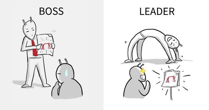 The Real Difference Between A Boss And A Leader Explained In 8