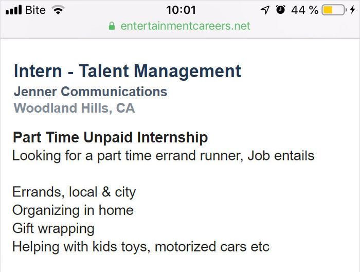 Want To Work For The Kardashians? Here Are Their Job Postings And