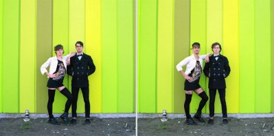 Couples Switch Outfits In Playful, Gender-Bending Photo ...