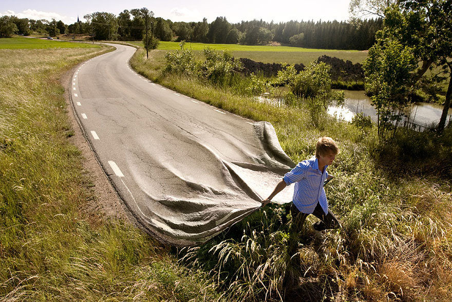 Go Your Own Road by Erik Johansson