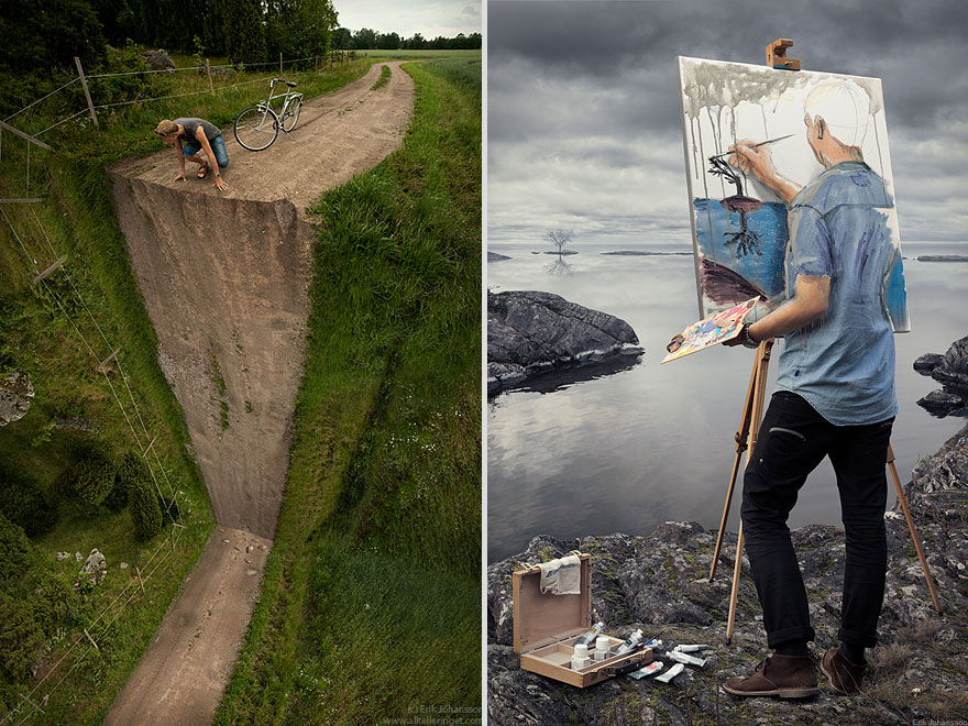 Vertical Turn Self-Actualization by Erik Johansson