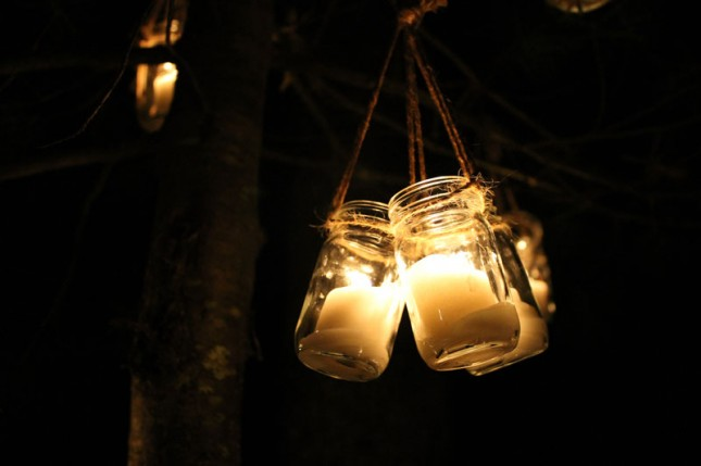 Fall String Lights Wallpaper Weddings Diy Basics Hanging Jar Lanterns Brit Co