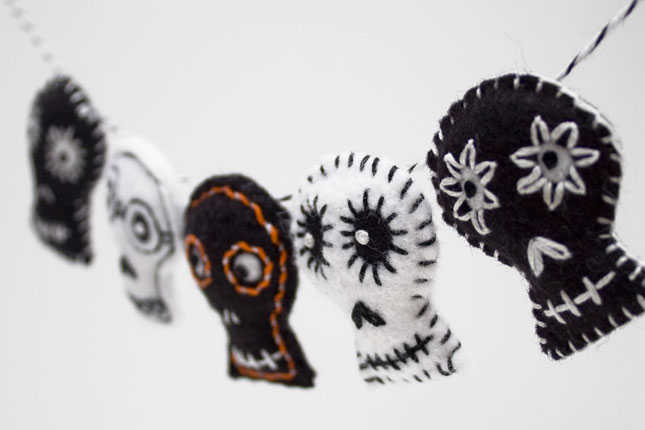 20 festive halloween garlands you can buy and diy brit co
