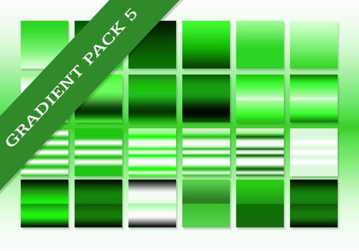 Free Green Ultimate Gradients Pack #5