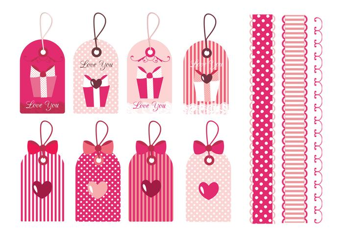 Valentine\u0027s Day Tags  Borders Brushes - Free Photoshop Brushes at - 's day borders