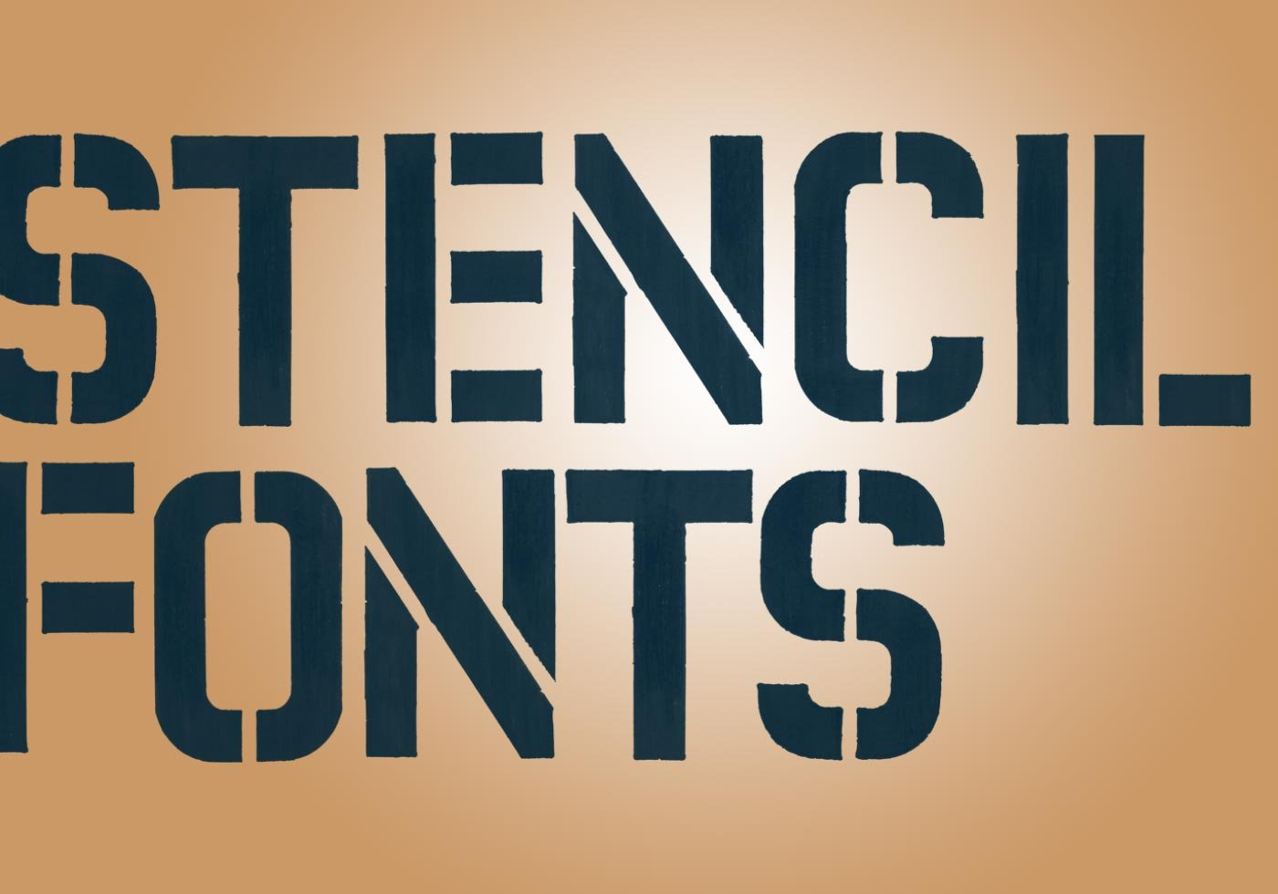 stencil lettering free